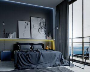 19 Masculine Bedroom Ideas for Men