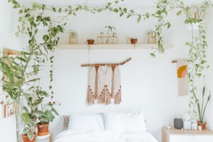 living in the boho style